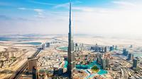 Dubai Tour Including Entrance to Burj Khalifa 124th Floor with Lunch from Abu Dhabi