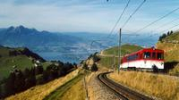 Private Guided Day Tour to Mount Rigi from Lucerne with Boat Ride and Cogwheel Train