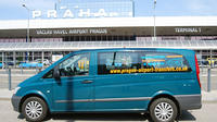 Prague Airport Shared Arrival Transfer And Half-Day City Walking Tour