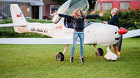 Flying lesson on a ultra light plane