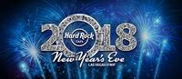 New Year's Eve at the Hard Rock Cafe on the Las Vegas Strip