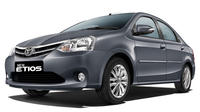 Etios Cab for Pvt Sightseeing