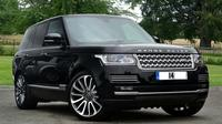 Luxury Range Rover with Chauffeur at Your Disposal in London