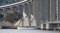 Hobart Morning or Afternoon Tea Cruise On Board The SV Rhona H Tall Ship image 1
