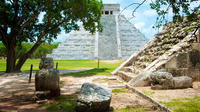 Private Chichen Itza and Coba Ruins with Lunch and Cenote Ik Kil Swim  from Cancun