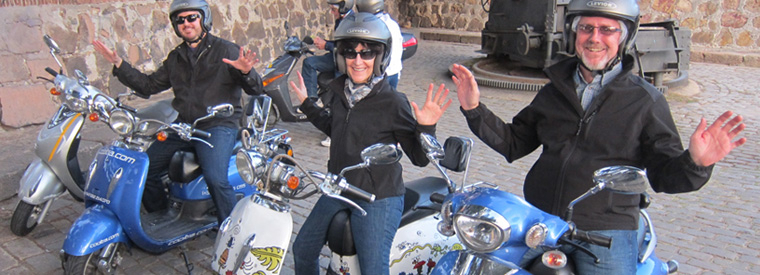 Barcelona Vespa, Scooter & Moped Tours
