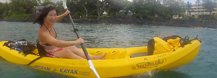 Big Island of Hawaii Kayaking & Canoeing