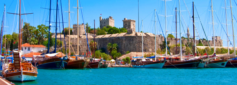 Bodrum Cruises, Sailing & Water Tours