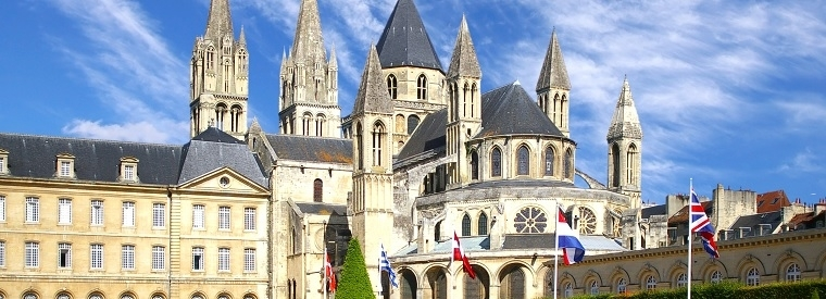 Destination Caen, Western France