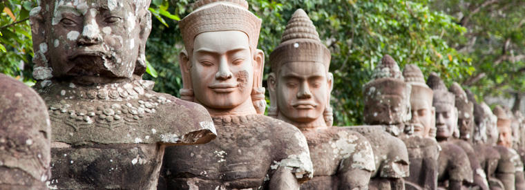 Cambodia Walking & Biking Tours