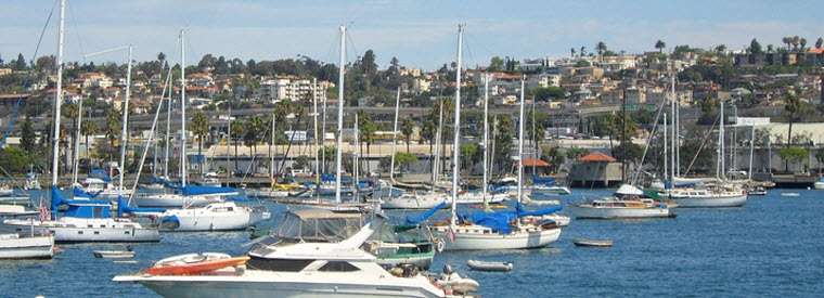 San Diego Cruises, Sailing & Water Tours