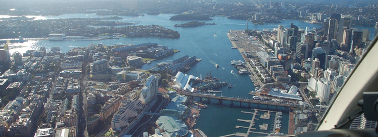 Sydney Air, Helicopter & Balloon Tours