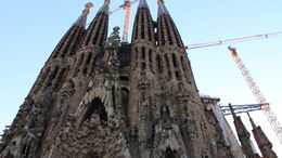 Look at La Sagrada Familia! - March 2012