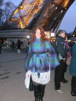 Photo of Paris Eiffel Tower, Paris Moulin Rouge Show and Seine River Cruise At the Eiffel Tower with my daughter
