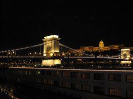 Photo of Budapest Budapest Night Walking Tour and River Cruise Bridge in Budapest