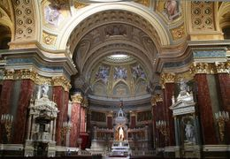 The interior of St Stephen's Basilica., Hendrik H - May 2009