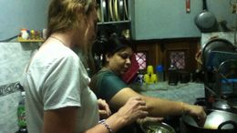 Delhi Cultural Experience: Cook and Eat with a Local Family - January 2012