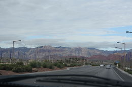 Photo of   Heading to Red Rock Canyon