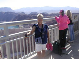 Photo of Las Vegas Ultimate Hoover Dam Tour Jean on the expansion bridgre