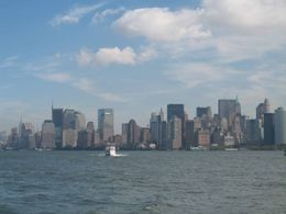 Looking at downtown New York from the water., Nigel M - September 2008