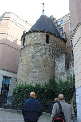 Photo of Brussels Brussels Beer Tasting Tour Part of the old Brussels wall