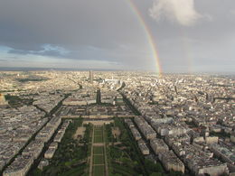 Photo of Paris Paris City Hop-on Hop-off Tour Rainbow view from Eiffel Summit