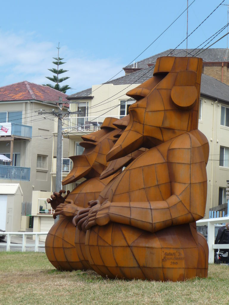 Sculptures by the sea 2010 -