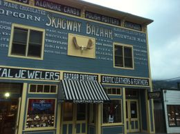 Skagway Bazaar in Skagway, isa - September 2011