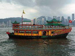 Photo of Hong Kong Hong Kong Sunset Cruise plus Dinner at the Jumbo Floating Restaurant Sunset Cruise