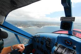 View from the cockpit., Jeff - February 2008