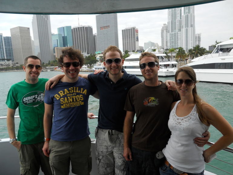The group, Biscayne Bay Cruise - Miami