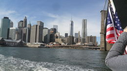 Photo of New York City Circle Line: Complete Manhattan Island Cruise the sun was shineing