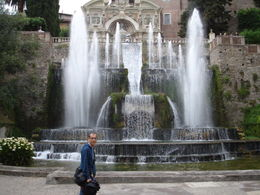 Photo of Rome Hadrian's Villa and Villa d'Este Half-Day Trip from Rome Water works