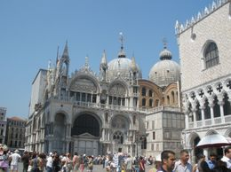 Photo of Venice Skip the Line: Venice Walking Tour with St Mark's Basilica A view of the Side of St. Mark's Basilica