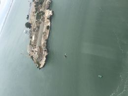 Flying above the alcatraz , Aarthi R - August 2015