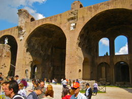 Photo of Rome Civitavecchia Shore Excursion: Rome in One Day Private Tour Ancient Temple