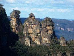 Three Sisters in the Blue Mountains was beautiful! , Jana B - June 2012