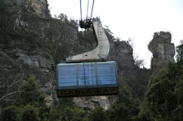 Photo of   Cable car across the Blue Mountains
