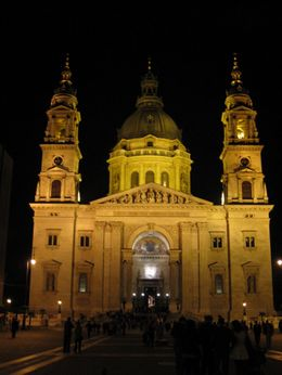 Photo of Budapest Budapest Night Walking Tour and River Cruise Cathedral in Budapest