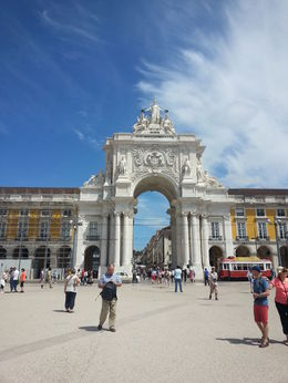 Photo of Lisbon Sintra Half-Day Trip from Lisbon commercial square