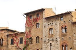Photo of Florence Siena and San Gimignano Day Trip from Florence Fall in San Gimignano