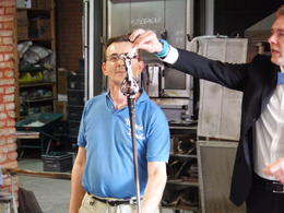Photo of   Glass blowing in Murano