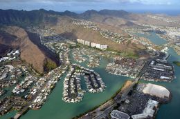 Photo of Oahu 45-minute Oahu Helicopter Tour: Hidden Oahu Miami-like community