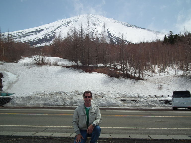 Mt. Fuji, a short ride down from the 5th Station - Tokyo