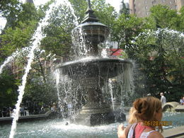 love the fountain , Stephanie H - July 2011