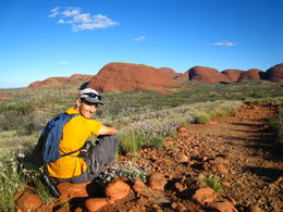 Just the two of us among the Olgas, so peaceful , Patricia P - January 2011