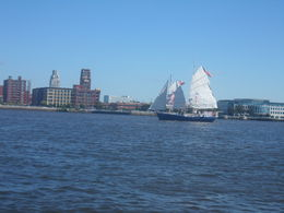 Great to see a fully functional junk sailing with us on the Delaware , RE H - September 2013