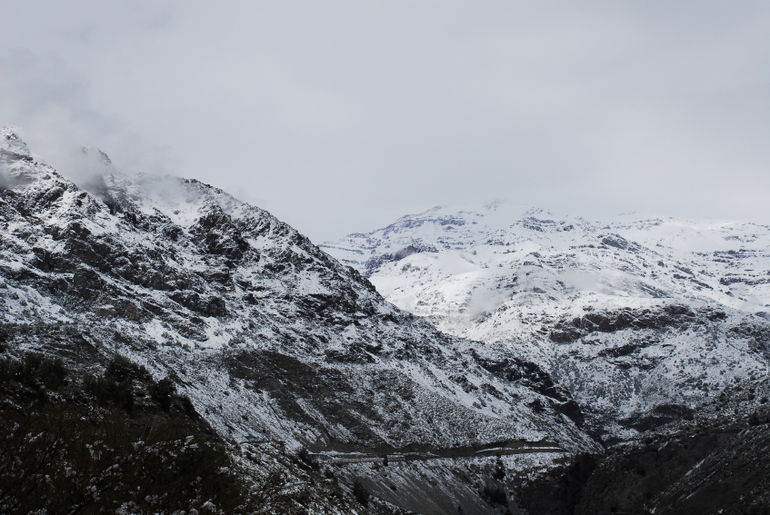 Road to Portillo, Chile - Santiago
