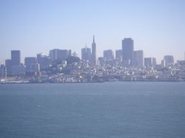 This is the view of the city from Alcatraz Island., NIGEL H - November 2008