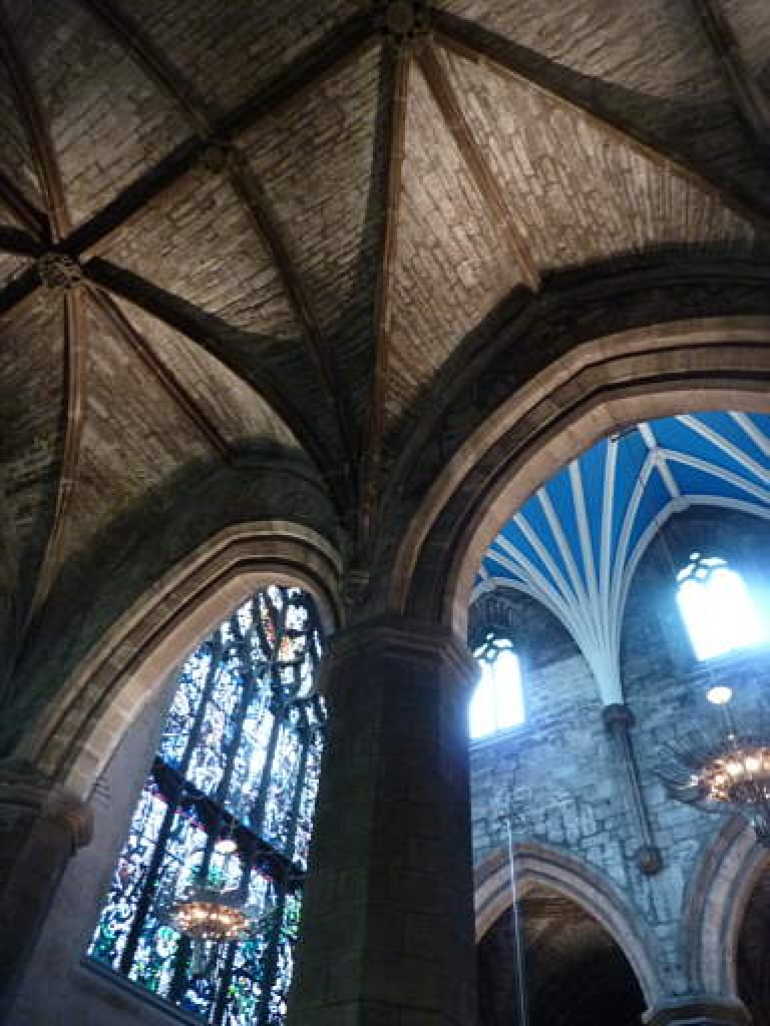 St giles' Cathedral, ceilings - London